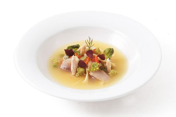Gemüsetopf Hühnerfleisch tiefgekühlt von Caterline
